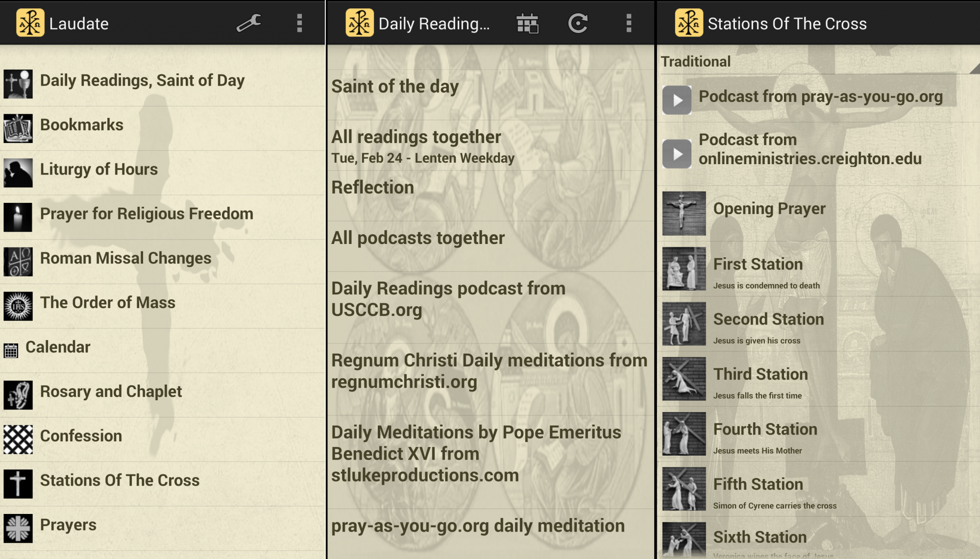 Laudate Prayer List App Iphone