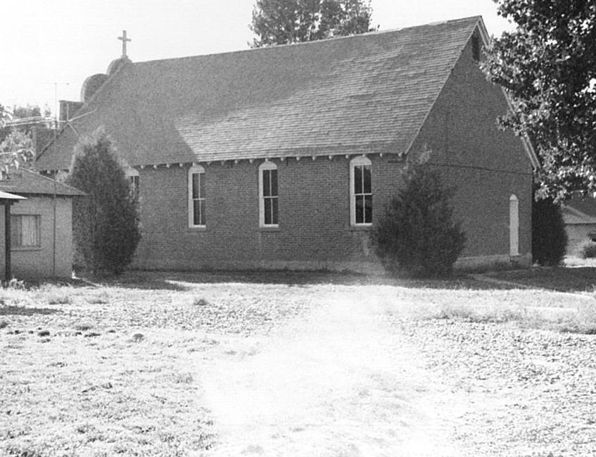 The original church at Waterflow.