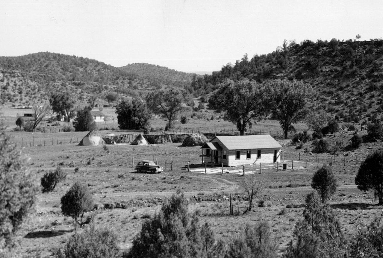 The chapel at Cedar Creek.